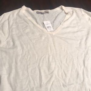 White XL loft sweater